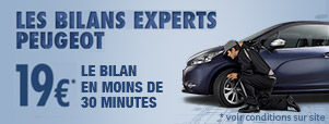 Les bilans experts Peugeot new