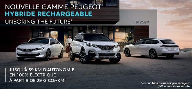 Nouvelle Gamme Peugeot Hybride Rechargeable