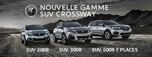 Gamme SUV